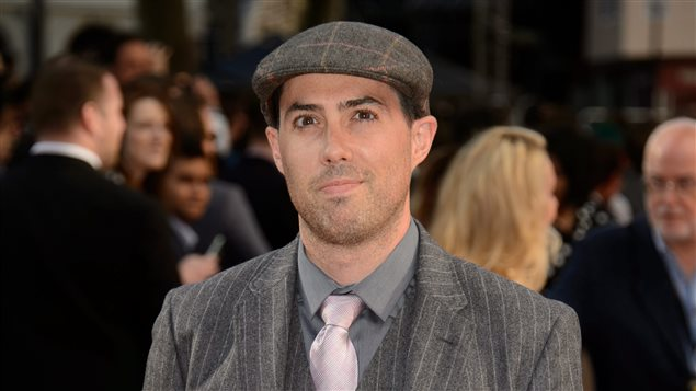 """Brad Peyton, director of """"San Andreas,"""" at the world premiere in a London cinema on May 21, 2015"""
