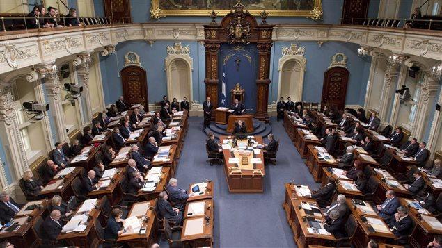 Asamblea nacional de Quebec