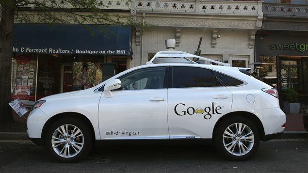 Une voiture sans chauffeur de Google