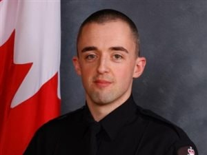L'agent Daniel Woodall, 35 ans