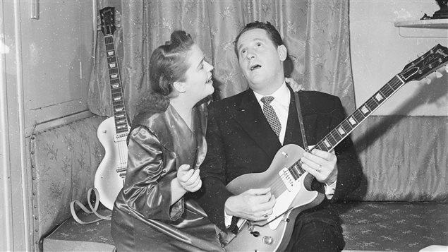 Les Paul et sa femme Mary Ford