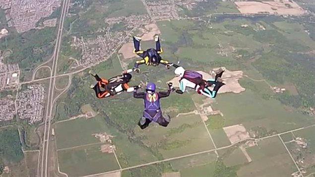 L'équipe de parachutisme de Gatineau « GOChiX »