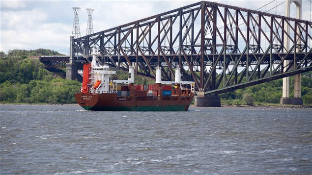 Transport maritime sur le fleuve Saint-Laurent