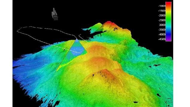 Ocean Floor 3d Map