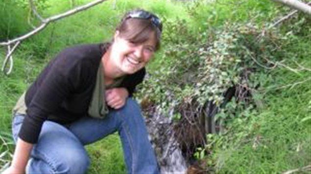 Amélie Janin, titulaire de la chaire de recherche industrielle, Yukon College