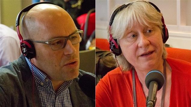 Claude Larrivée et Danielle Bilodeau