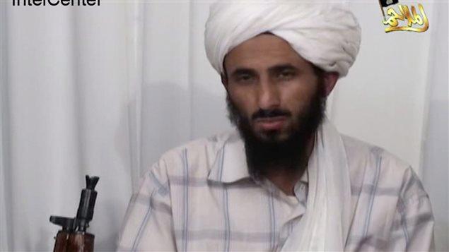Nasser Al-Wouhaïchi dans une vidéo d'Al-Qaïda (archives)