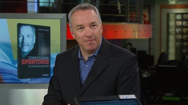 Martin Leclerc est chroniqueur sportif à Radio-Canada depuis quelques années.