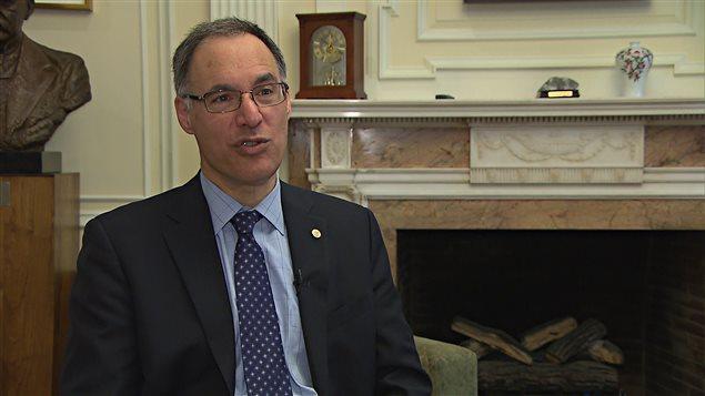 David Eidelman, doyen de la faculté de médecine de l'Université McGill
