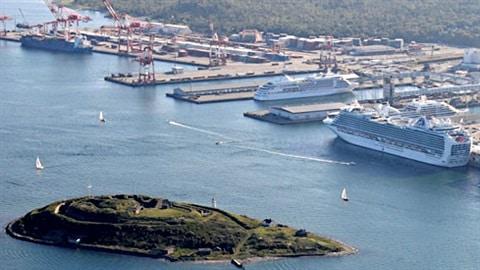 Le port d'Halifax, en Nouvelle-Écosse.