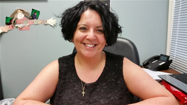 Mélanie Ferrer, de Winnipeg