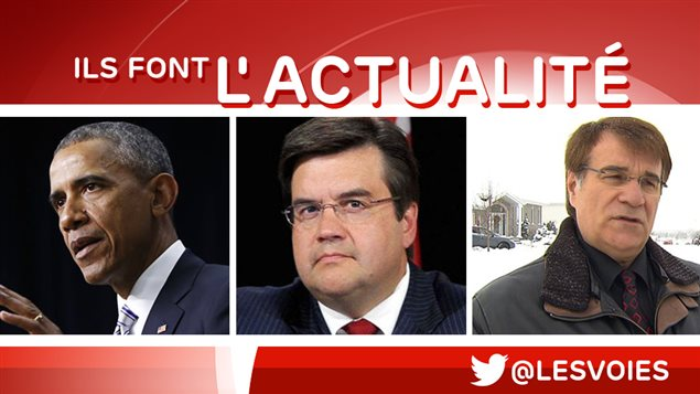 Barack Obama, Denis Coderre et Marc Asselin