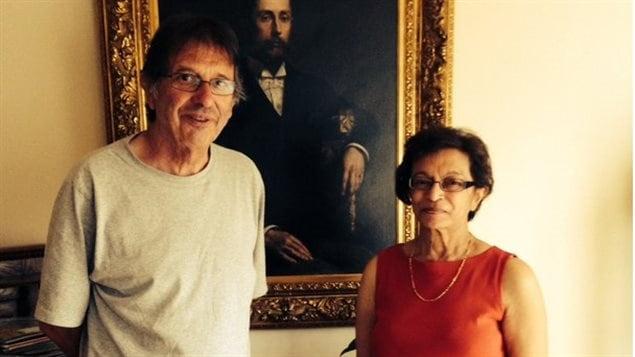 Leila Douad Munier et son mari
