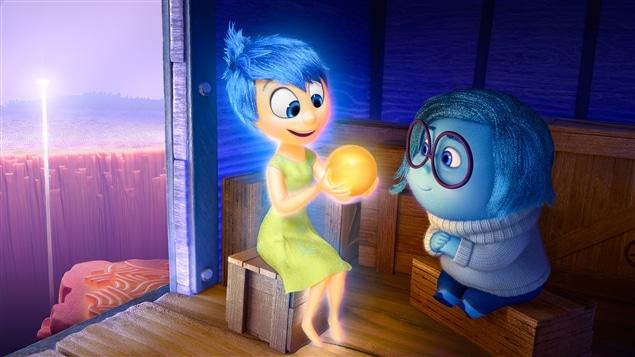 Une image du film <i>Inside Out</i>, réalisé par Pete Docter et produit par les studios Pixar