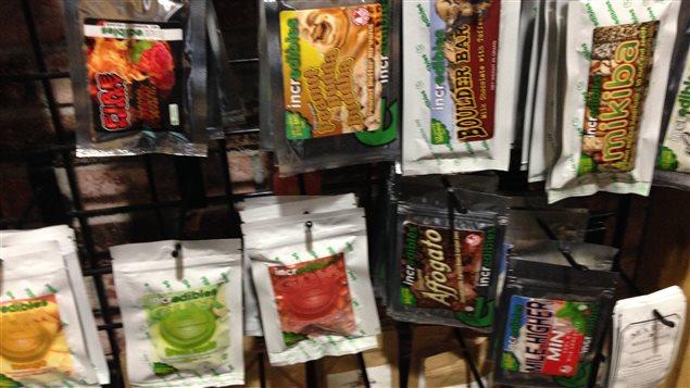 La vente de friandises au cannabis au Colorado