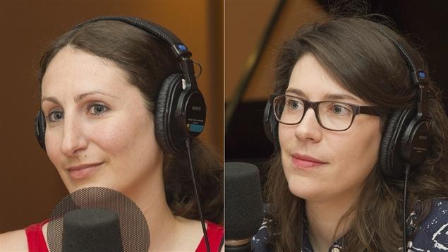 Églantine Pandelé et Sophie Laforest