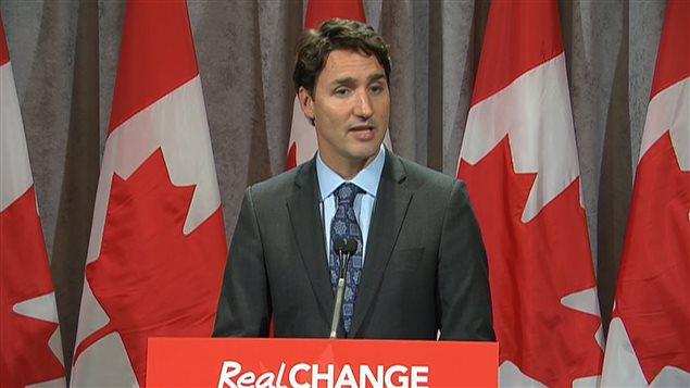 Le chef du Parti libéral du Canada, à Ottawa, le 22 juin