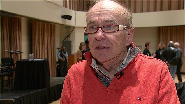 L'ancien conseiller municipal d'Edmonton Michael Phair.