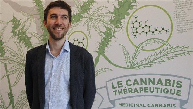 Adam Greenblatt, fondateur clinique Santé cannabis