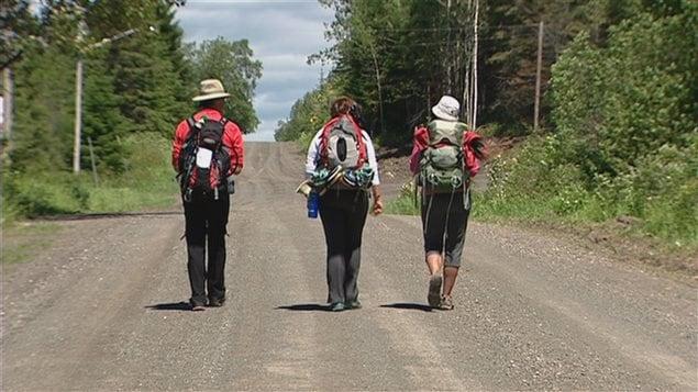 Un Compostelle québécois a vu le jour dans l'Est du Québec : le Chemin de Saint-Rémi.
