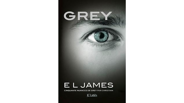 La couverture de <i>Cinquante nuances de Grey par Christian</i>, d'E.L. James, à paraître en juillet aux éditions JC Lattès
