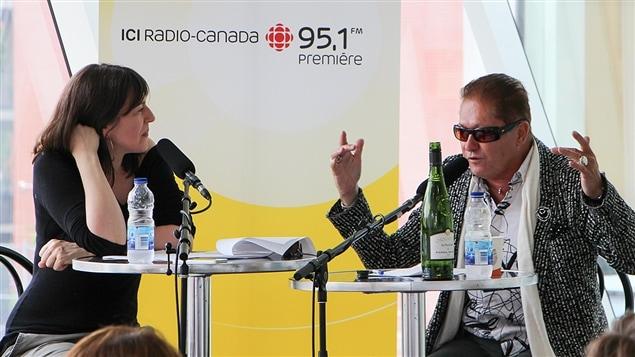 Marie-Louise Arsenault avec le poète Jean-Paul Daoust