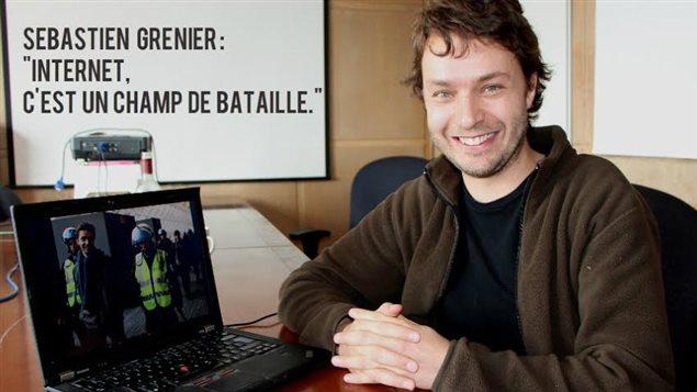 Sébastien Grenier, notre 'numéricain' de la semaine