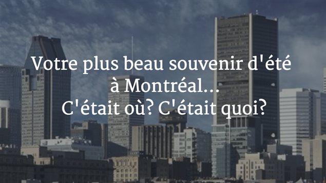 La question de la semaine posée aux internautes et aux auditeurs du Grand Montréal