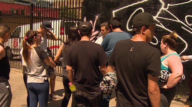 De jeunes autochtones participent au programme Scared Straight dans le Downtown Eastside