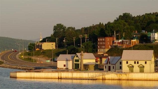 Le site « Gaspé berceau du Canada », sur la pointe O'Hara à Gaspé.