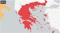 D'où est née la crise grecque?La réponse en cartes