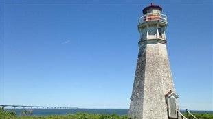 Le phare du Cap Jourimain est l'un des 74 au pays à recevoir la désignation patrimoniale du gouvernement fédéral