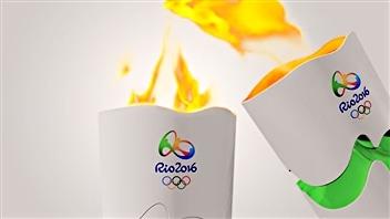 Le flambeau de Rio salue «l'énergie d'un peuple»