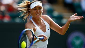Maria Sharapova passe en huitième de finale à Wimbledon