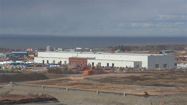 L'usine Enercon de Matane