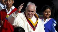 Le pape François de retour en Amérique du Sud pour parler de justice sociale