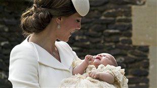 La princesse Charlotte a son baptême.