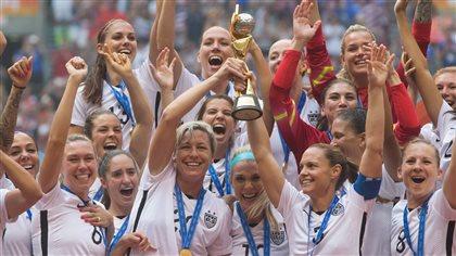 Les Américaines gagnent la Coupe du monde de soccer