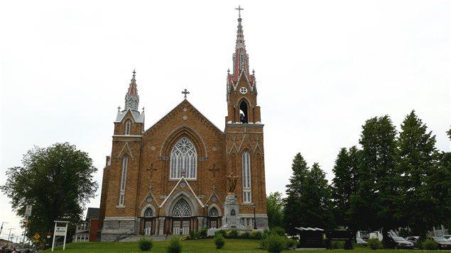 L'église Sainte-Agnès de Lac-Mégantic