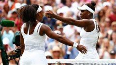 Wimbledon : Serena Williams devant sa soeur Venus