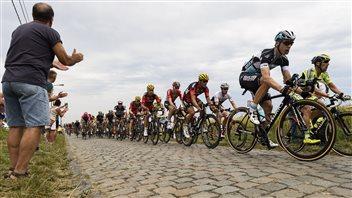 Tony Martin gagne l'étape et s'empare du maillot jaune au Tour de France