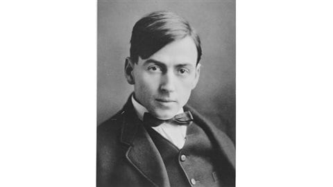 The handsome Tom Thomson as a young man, later one of the most iconic of Canadian artists