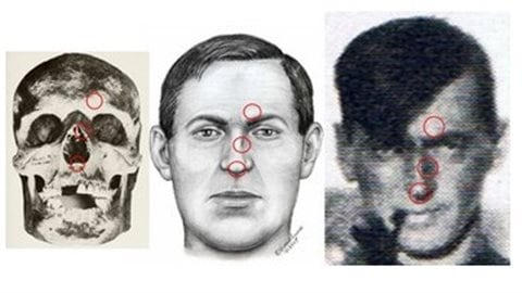 In 2010, Dr Ron Williamson, archeologist specializing in exhumed remains, sent photos of the