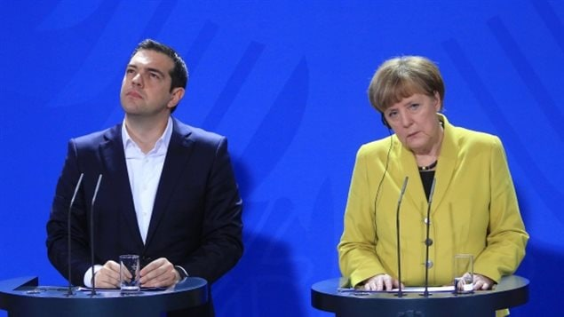 Angela Merkel and Alexis Tsipras have emerged as the two central figures of Greece's debt crisis