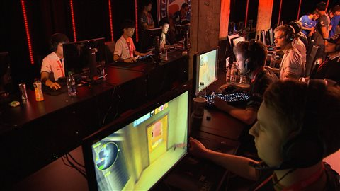 Coupe du monde de jeux vidéo Montréal 2015 Counter-Strike.