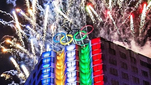 L'ouverture de la Maison olympique du Canada � Montr�al � l'�t� 2015
