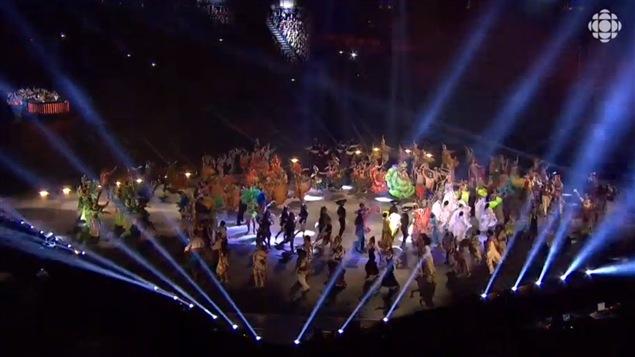 Cérémonie d'ouverture des Jeux panam à Toronto le 10 juillet dernier.