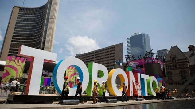 Les Jeux panaméricains de Toronto s'ouvrent officiellement aujourd'hui. La cérémonie d'ouverture des jeux aura lieu à 19h30 au Centre Rogers.