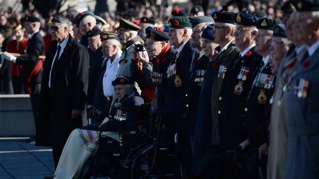 Des vétérans à Ottawa