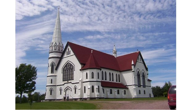 St Mary's deconsecrated Catholic church, with its astounding acoustics, now home to the Indian River festival featuring classical performances from around the world